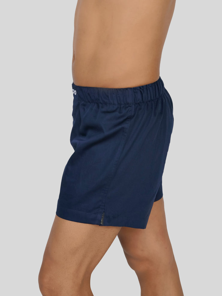 Navy Bed Boxer