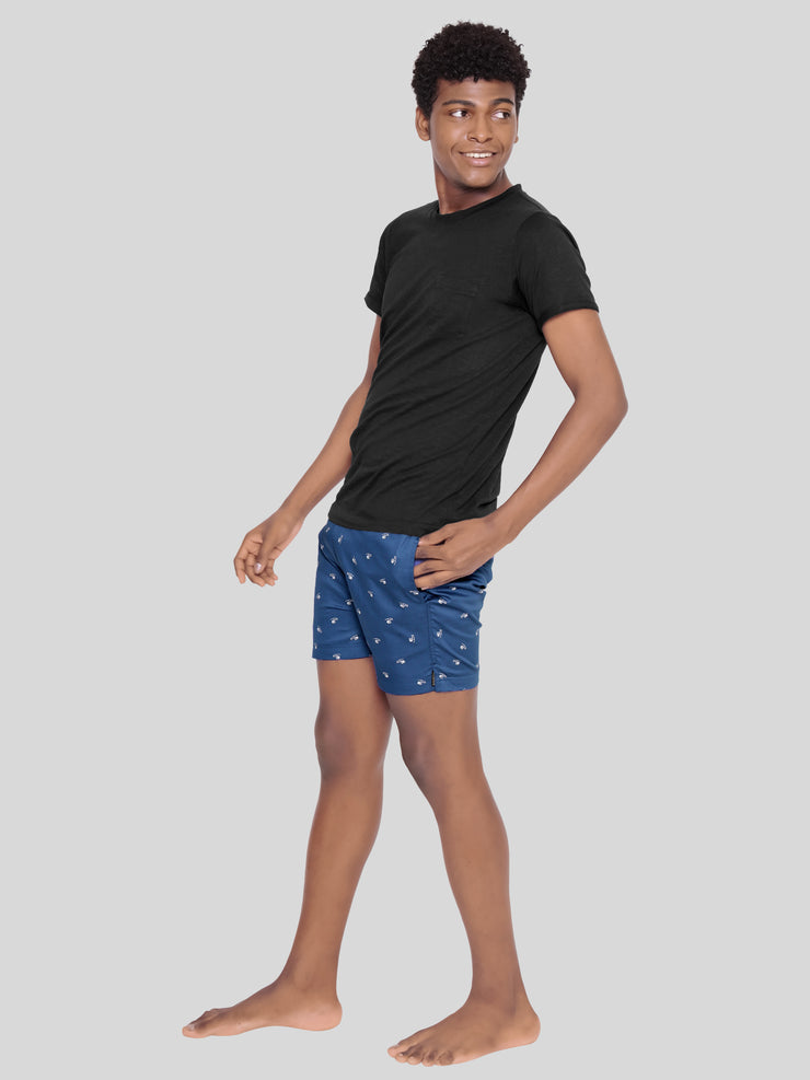 Blue copter premium shorts