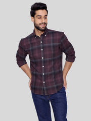 Brown Flannel Shirt