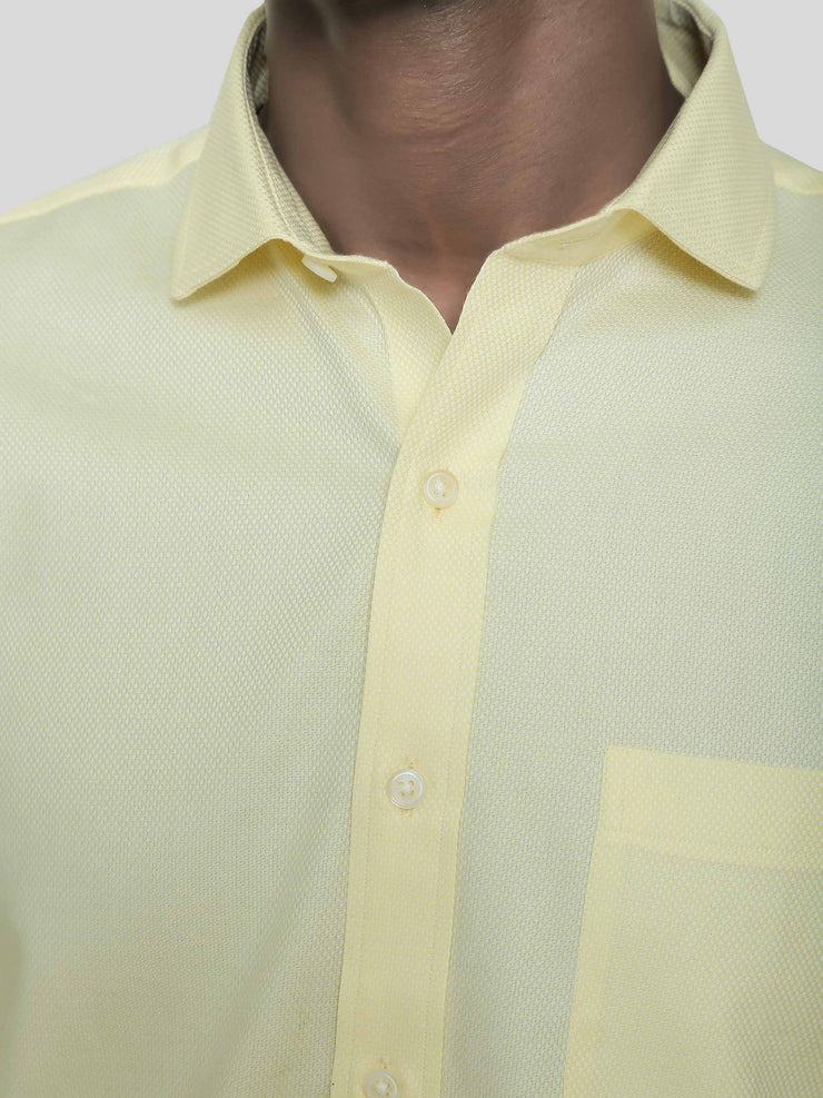 Lemon Yellow Birdeye Shirt