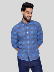 Soothe Blue Flannel Shirt