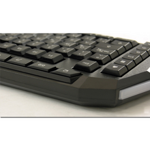 Afbeelding in Gallery-weergave laden, Game Hero x LC-Power - Toetsenbord - Gaming - QWERTY - Zwart / LED