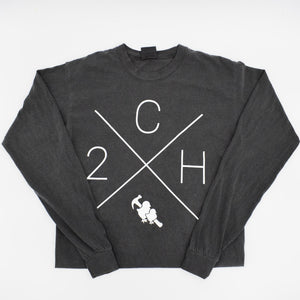 Two Chicks Fall Long Sleeve Tee - Pepper