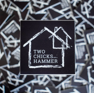 Load image into Gallery viewer, Two Chicks Homes Sticker