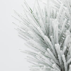 Load image into Gallery viewer, Snowy Mixed Pine Spray 23""