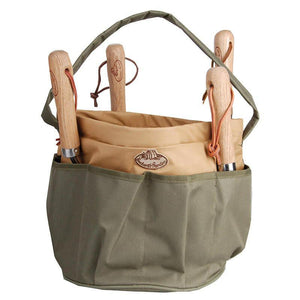 Canvas Round Tool Bag