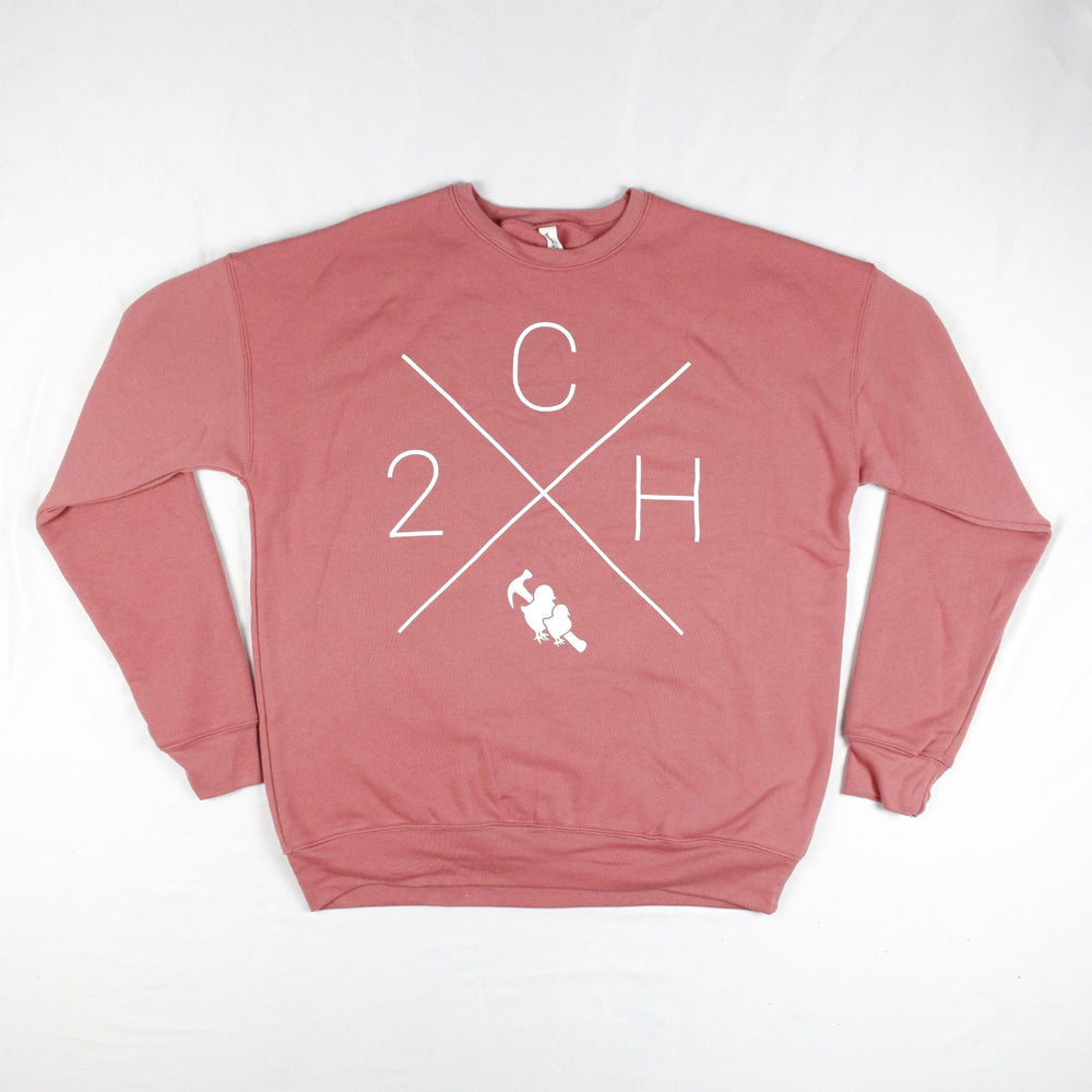 Two Chicks Crewneck - Mauve