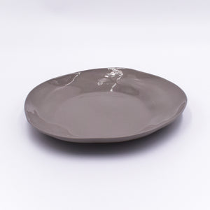 Stoneware Plate Sterling Medium