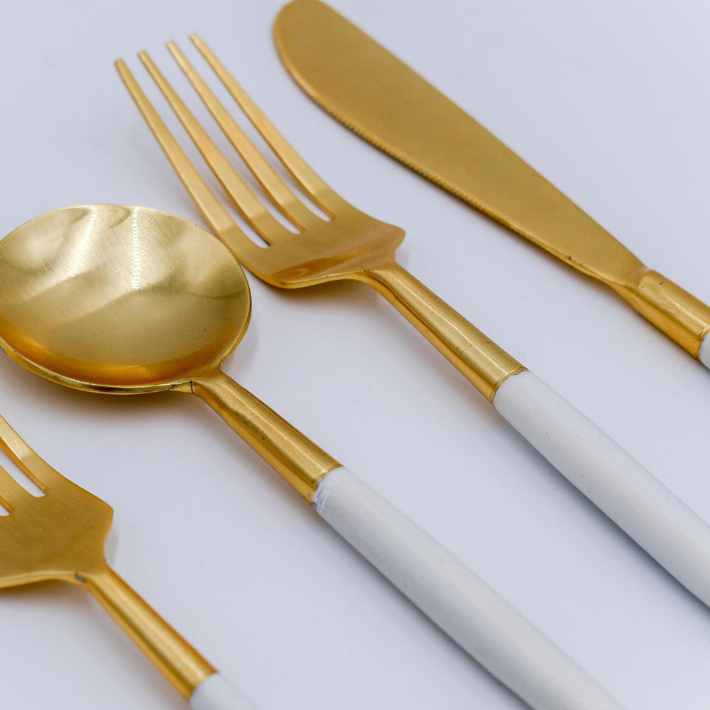 Two Tone Flatware - Set of 5