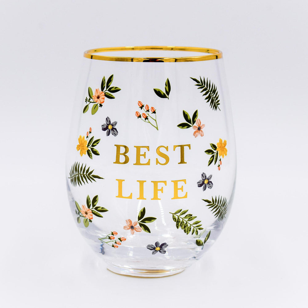 Stemless Wine Glass - Best Life