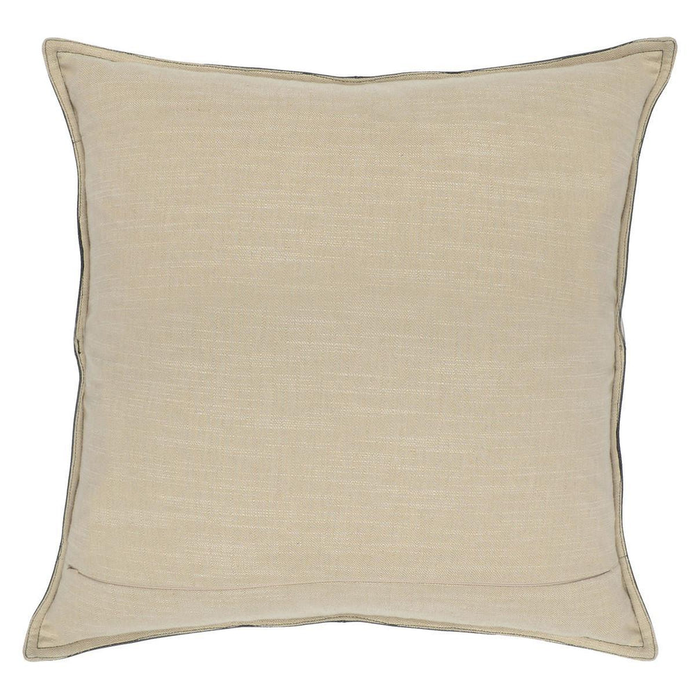 Parsons Pillow - Cocoa Leather