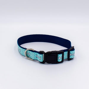 Load image into Gallery viewer, Bone Motif Dog Collar