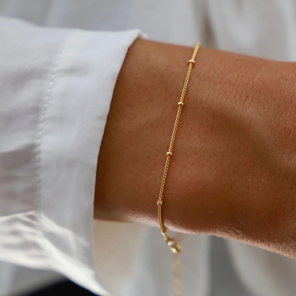 Gold Filled Satellite Bracelet
