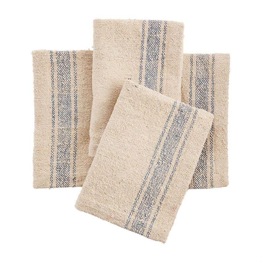 Load image into Gallery viewer, Napkin Set - Ponchaa Stripe