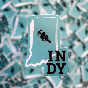 Load image into Gallery viewer, Sticker - Indy Logo