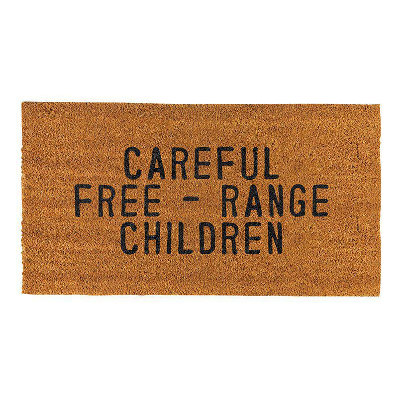 Door Mat - Free Range Children