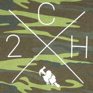 Two Chicks Crewneck - Camo