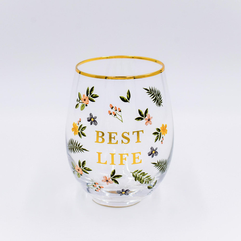 Load image into Gallery viewer, Stemless Wine Glass - Best Life
