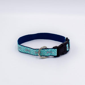 Bone Motif Dog Collar