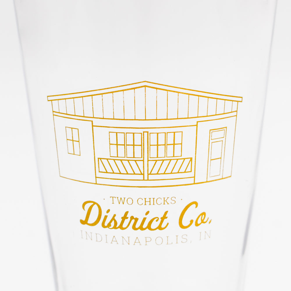 District Co. Pint Glass