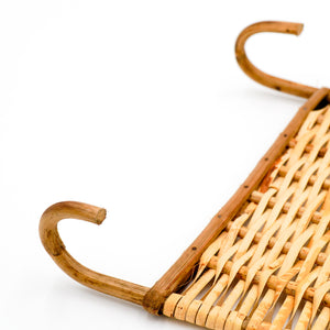 Rattan Wall Hooks Set of 2