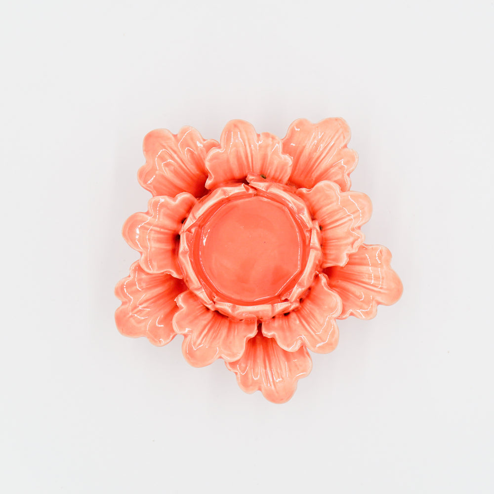 Pretty Petals Tealight Apricot