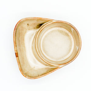 Stoneware Cracker & Soup Bowl