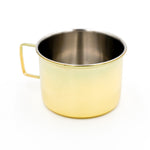 Stainless Steel Moscow Mule Mug - Brass Finish