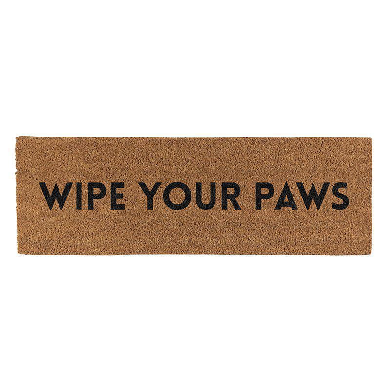 Door Mat - Wipe Your Paws