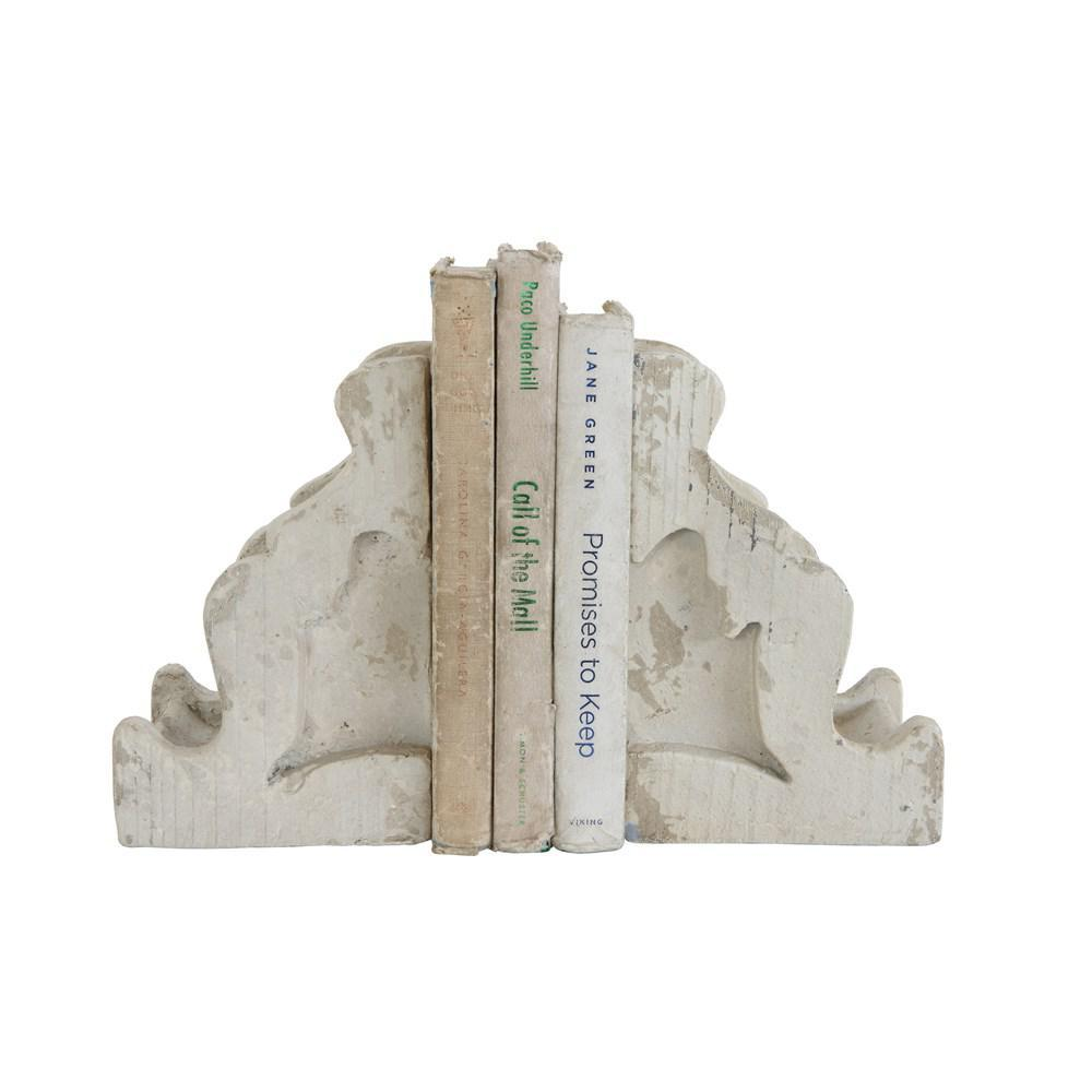 Magnesia Corbel Bookends Set