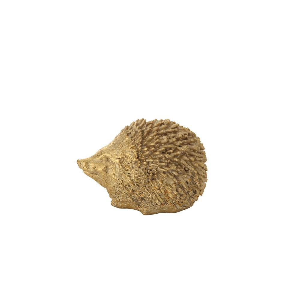 Load image into Gallery viewer, Resin Hedgehog Gold