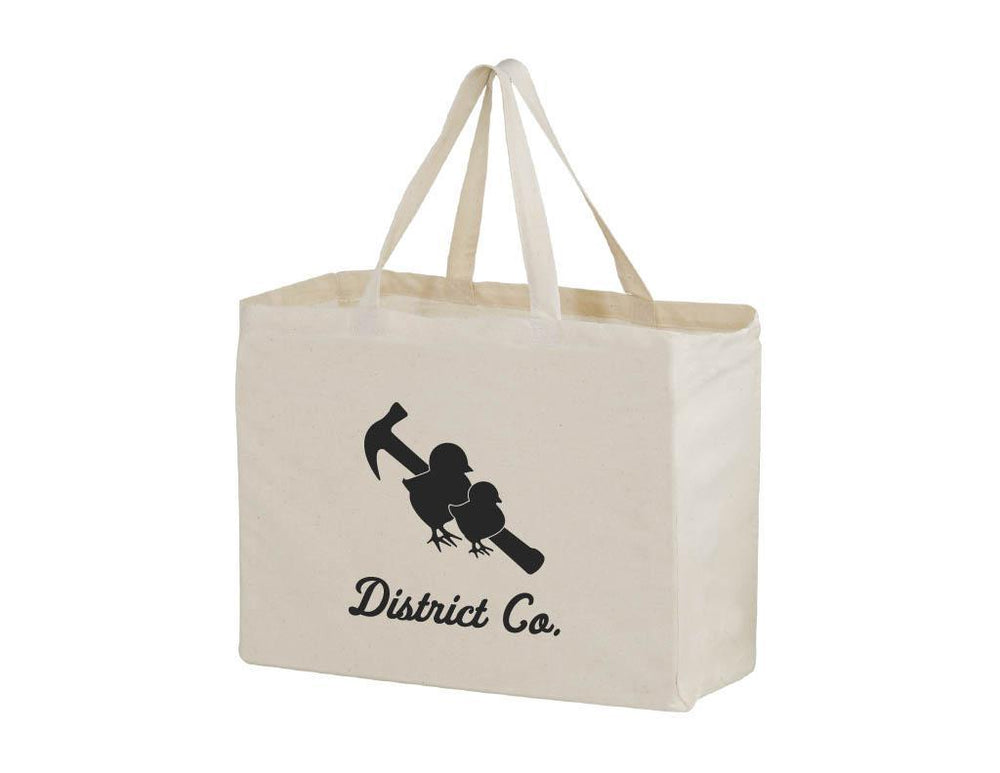 Canvas Tote - Two Chicks District Co