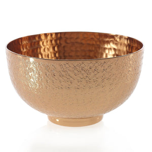 Copper Etched Bowl