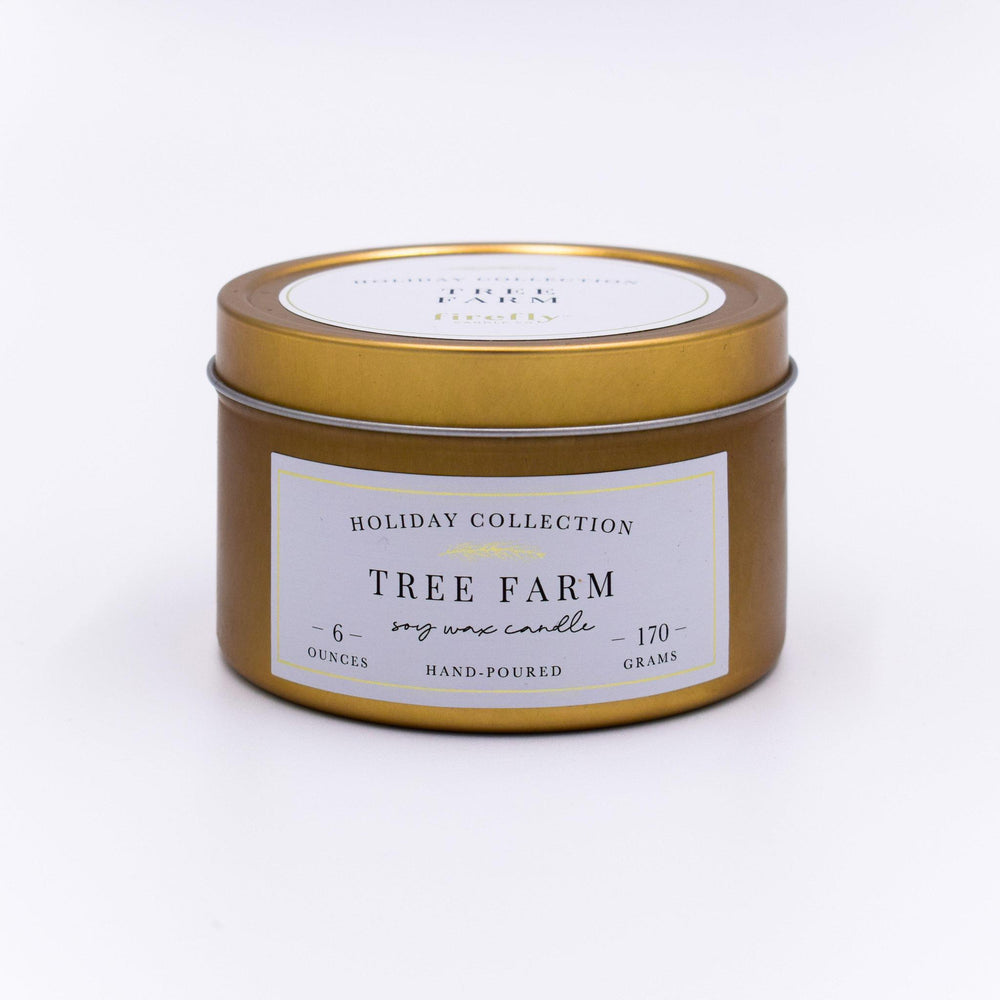 6oz Tin Candle - Tree Farm