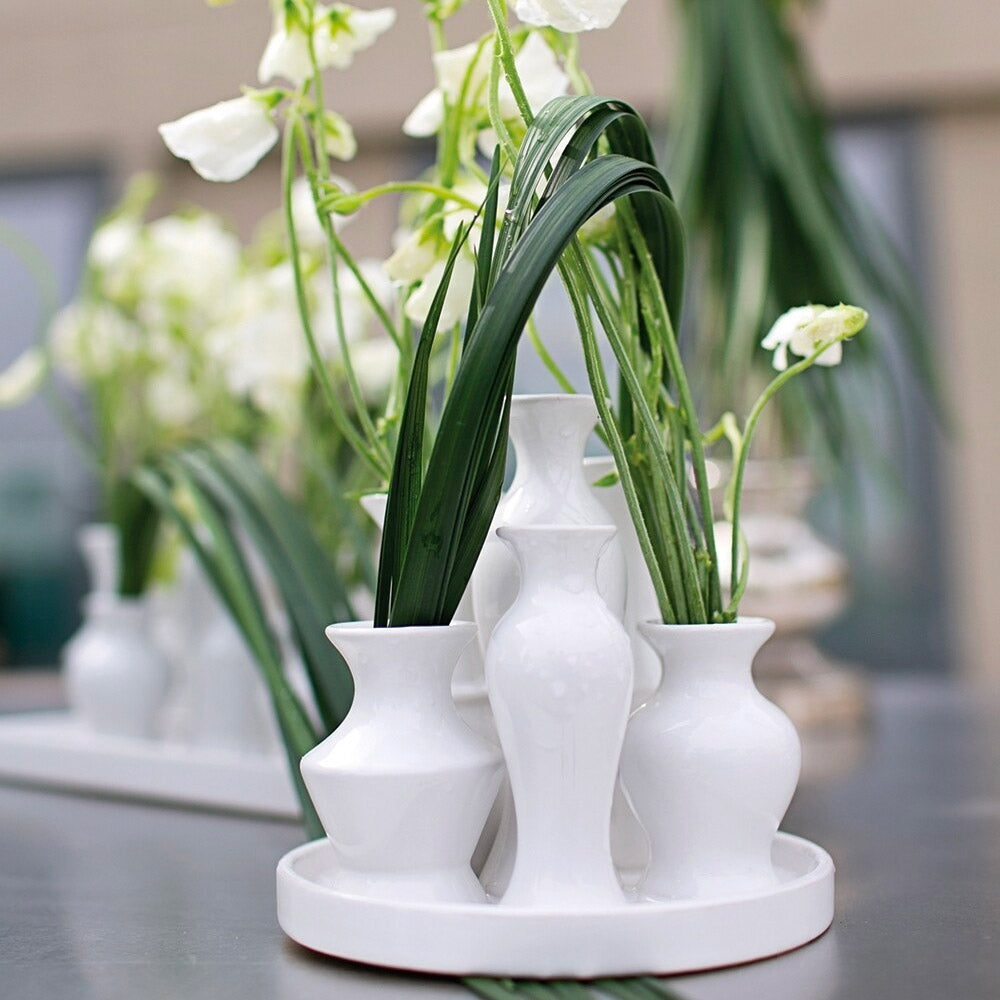 Load image into Gallery viewer, Chic Vase - White Round