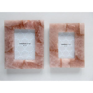 Load image into Gallery viewer, Pink Quartz Photo Frame