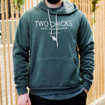 Two Chicks Classic Hoodie - Heather Forest
