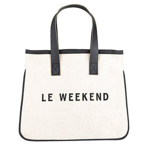 Canvas Tote Mini - Weekend