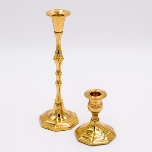 Load image into Gallery viewer, Antique Gold Candle Stick