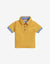 BABY BOYS YELLOW COLLAR COMBI POLO - Gingersnaps