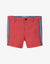 BABY BOYS RED SIDE STRIPES CHINO SHORTS