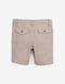 BABY BOYS BEIGE BERMUDA SHORTS WITH KEYCHAIN - Gingersnaps