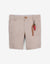 BABY BOYS BEIGE BERMUDA SHORTS WITH KEYCHAIN