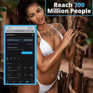 Reach Up To 700 Million People | Grow Your Onlyfans!