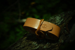Ego Leather Goods Belt making workshop