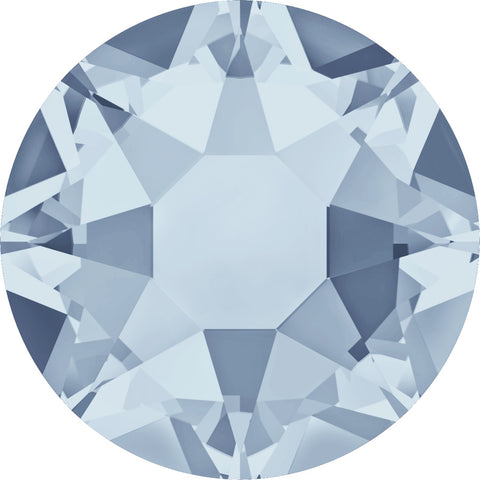 stock image of Swarovski Crystal Hotfix in Crystal Blue Shade colour