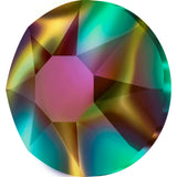 stock image of Swarovski Crystal Hotfix in Crystal Rainbow Dark colour