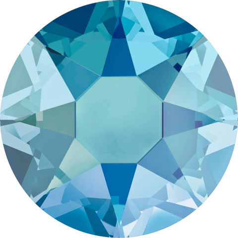 stock image of Light Sapphire Shimmer in Hotfix Swarovski Crystals