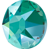 stock image of blue zircon Shimmer in Hotfix Swarovski Crystals