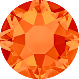 stock image of Swarovski Crystal Hotfix in Fireopal colour